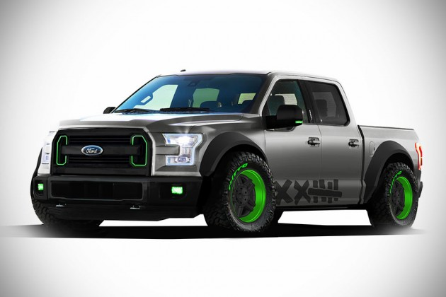 Custom Ford F-150 Trucks - Vaughn Gittin Jr. Street Truck