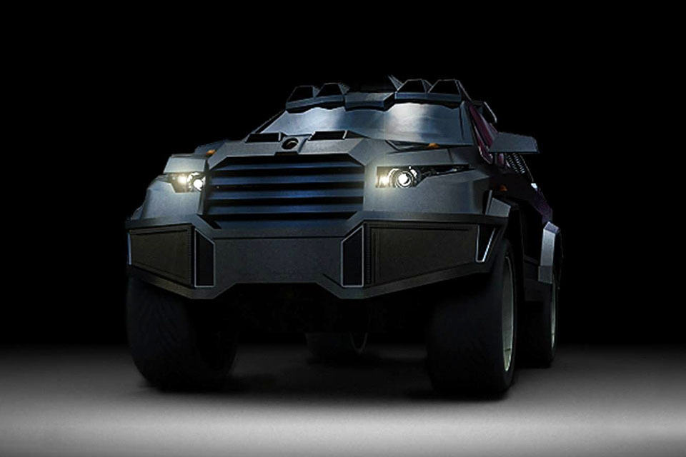 Dartz Prombron Black Shark Armored Car Packs 1,500HP, Looks Sufficiently Apocalyptic - MIKESHOUTS