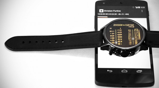 Futuristic, Buttonless Type 50 Wrist Watch Uses Flashing Light to Set Precise Time