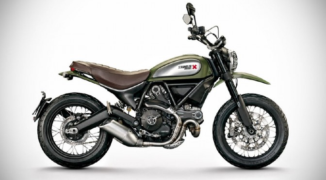 Ducati Scrambler - Urban Enduro