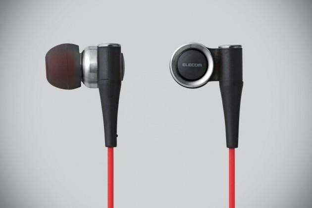 Elecom EHP-CH1000SV High-Resolution In-Ear Headphones
