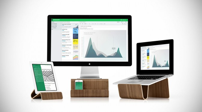 Evernote Bent Ply Stands by Eric Pfeiffer