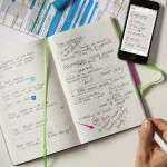 Write Down Your Plans on Paper and Be Reminded of Them Digitally with Evernote Planner by Moleskine