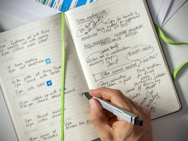 Evernote Planner by Moleskine
