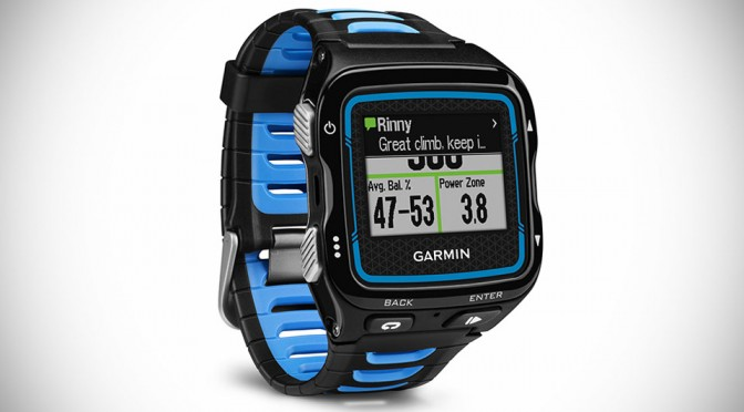 Garmin Forerunner 920XT Multisport GPS Watch Offers Detailed Tracking While Keeping You Connected
