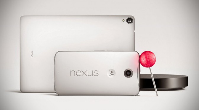 Google Announces New Nexus Phone, Tablet, Player and Android 'Lollipop'