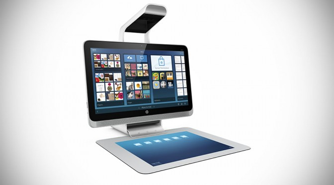 HP Introduces 3D-scanning PC with Projected Second Screen, Heralds the New Era of Computing