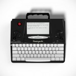 Typewriter Lives Again, Adapted for 21st Century Writers with E-ink Display and Syncs to the Cloud