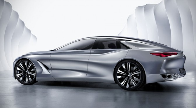 550HP+ Infiniti Q80 Premium Fastback Sedan Looks Like a Car of From the Future with the Tech to Match