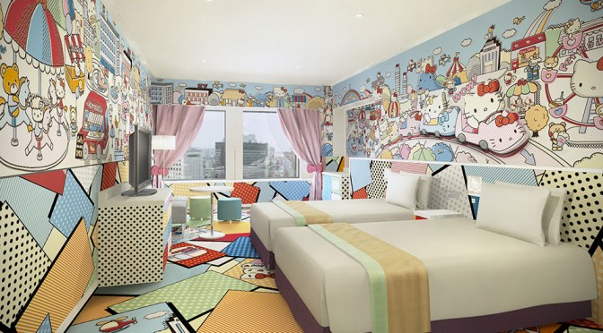 Travel: Keio Plaza Hotel in Japan Collaborates with Sanrio to Offer Hello Kitty-themed Guest Rooms