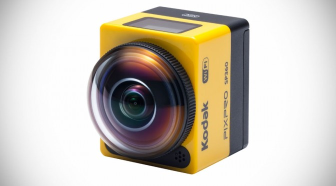 Kodak Pixpro SP360 Action Cam Offers Multiple Modes of Recording, Including 360-degree 'Globe' Videoing
