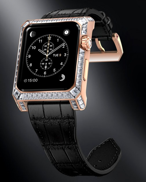 Luxury Apple Watch Concept by Yvan Arpa