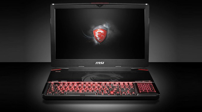 MSI Announces The World's First Gaming Laptop Outfitted with Mechanical Keyboard