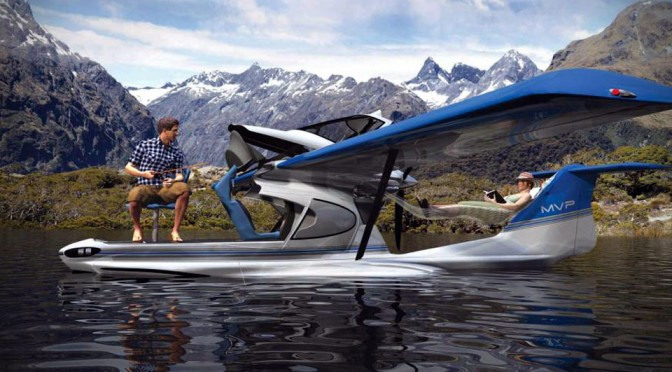 MVP Light Sport Aircraft is the MPV of the Sky, or Maybe the Lake Too