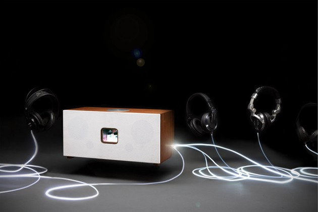 NUC-Integrated Tubecore Duo Intelligent Home Audio System