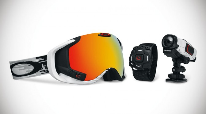 Oakley Airwave 1.5 Snow Goggle and Garmin VIRB