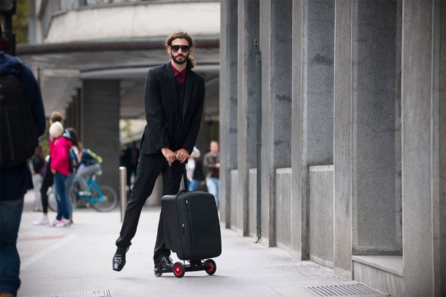 Olad Multifunctional Hybrid Folding Skatescooter - Business