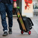 One Less Thing To Carry: A Carry-on or Backpack Skatescooter That Lets You Conquer the Last Mile