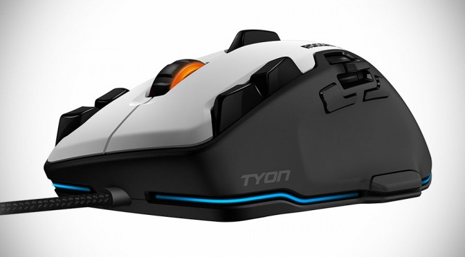 Tyon is ROCCAT Gaming Mouse of the Future, Lets You Rotate Tank Turret from the Mouse