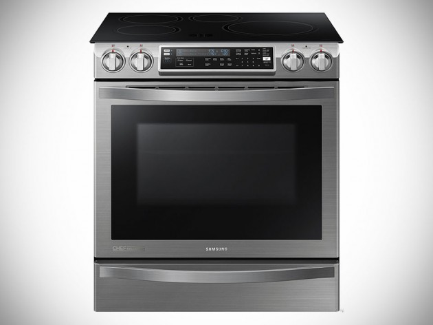 Samsung NE58H9970WS Slide-in Induction Chef Collection Range with Flex Duo Oven