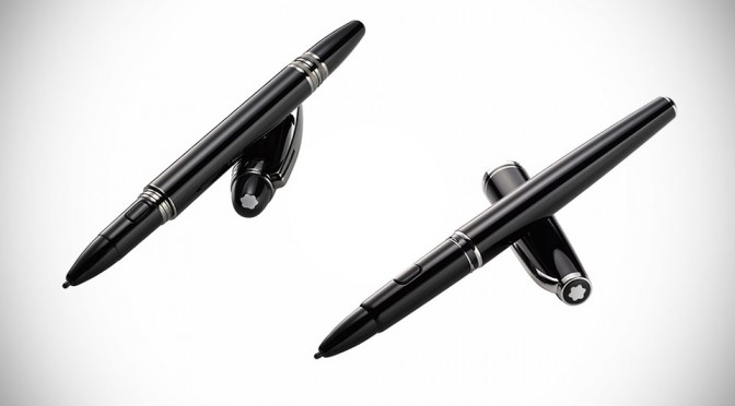 How Do You Like to Scribble on Your Galaxy Note 4 with a Montblanc Pen? Well, Now You Can.
