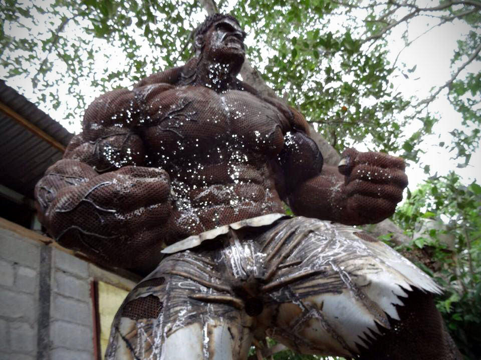 This Hulk Made Out of Scrap Metal Will Smash Your Mind ...