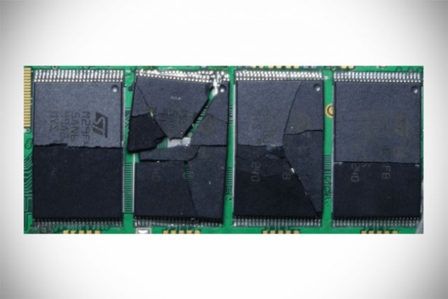 SecureDrives Self-destructing Solid State Drive