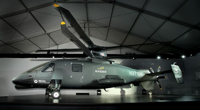 Sikorsky S-97 Raider Coaxial Helicopter Officially Unveiled, Claims 253 MPH Top Speed