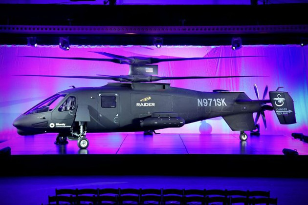 Sikorsky S-97 Raider Coaxial Helicopter