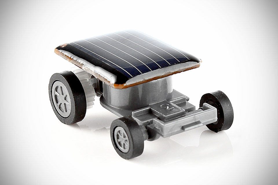 Tiny Solar Powered Toy Car Will Keep On Going As Long As