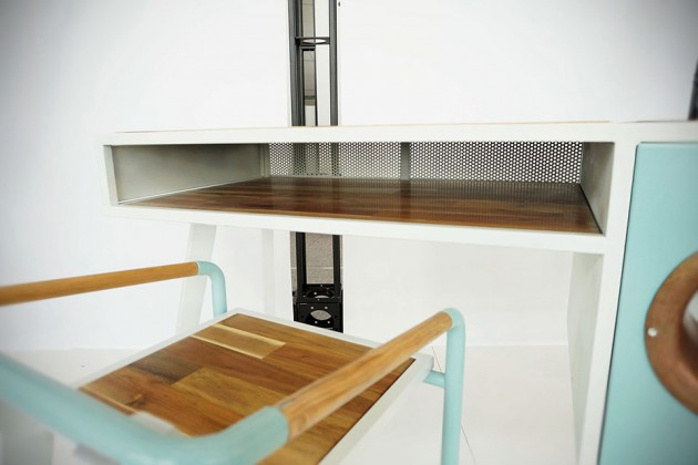Sound Table and Seat by Jina U