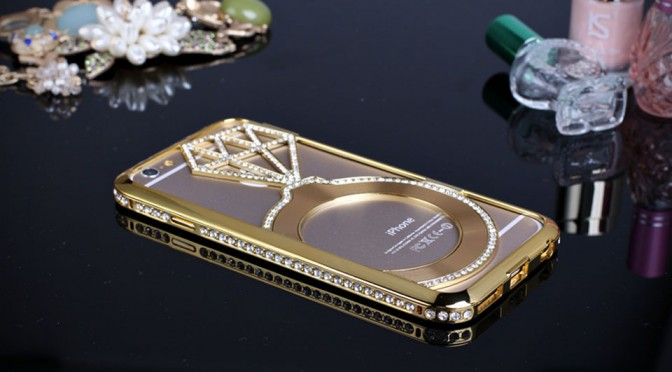 This Faux Diamonds-decorated Bumper Case Might Be a Cheaper Way to Own a Luxe iPhone 6