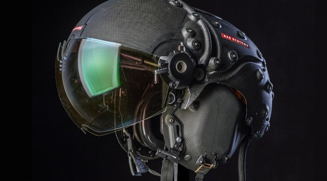Striker II Helmet-Mounted Display by BAE Systems