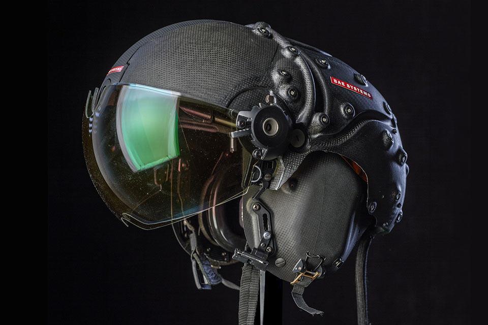 With The Striker Ii Helmet Mounted Display Even Darkness