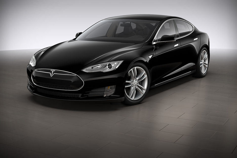 Tesla 39 s new s p85d has two motors all wheel drive and for Tesla motors car price