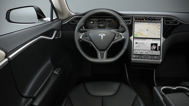 Tesla S P85D Electric Car