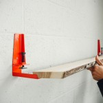 The Floyd Shelf Turns Any Flat Plank Into a Stylish Shelf with Character