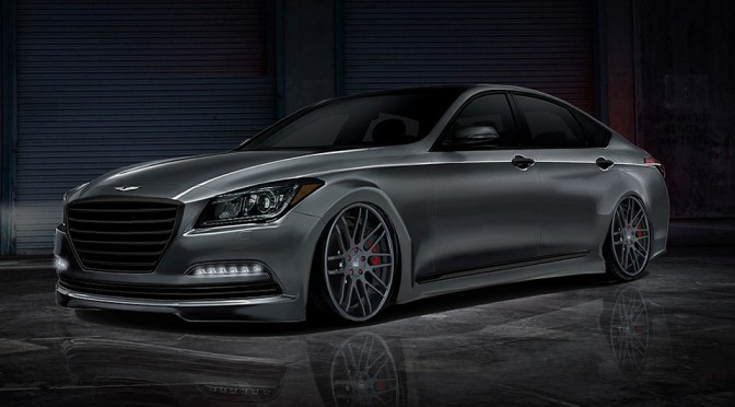 Toca-tuned 600HP Hyundai Genesis Sedan Heads to SEMA Show