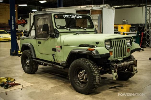 1990 Jeep Wrangler YJ