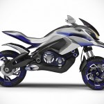 Yamaha 01GEN Concept Trike Looks Like a Vehicle From Robotech
