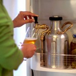 Almost Steampunk-ish uKeg Pressurized Growler Keeps Beer Fresh for As Long As You Want