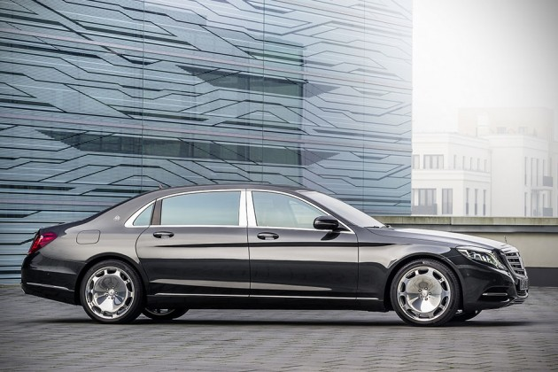 2015 Mercedes-Maybach S600 Luxury Sedan