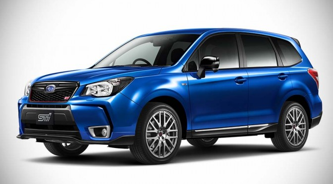 Subaru Forester Gets Souped Up by STI, But Alas, it is Still Not a Forester STI