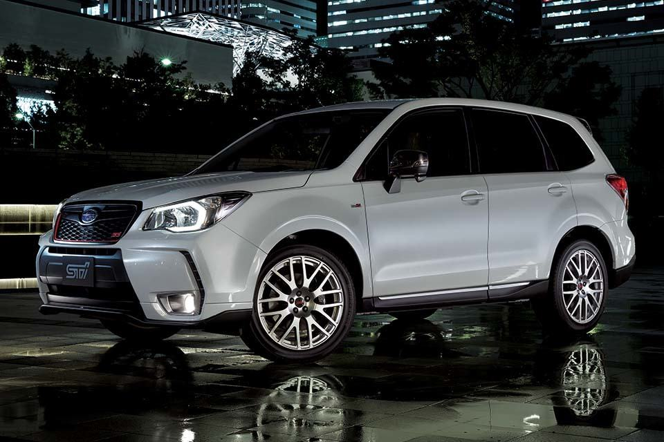 Subaru Forester Gets Souped Up by STI, But Alas, it is ...