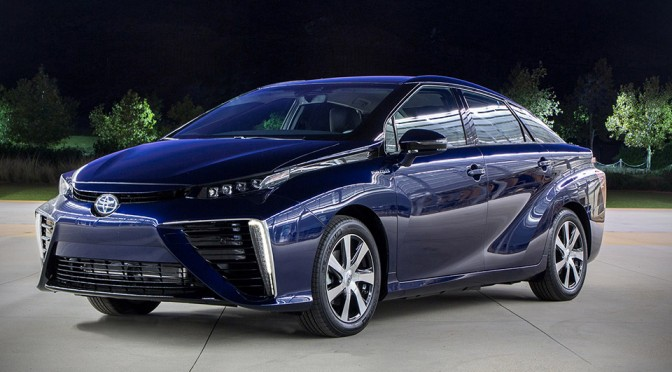 2016 Toyota Mirai Fuel Cell Car