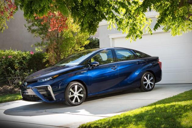 2016 Toyota Mirai Fuel Cell Car