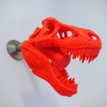 3D Printed T-Rex Showerhead is Why We All Need 3D Printers