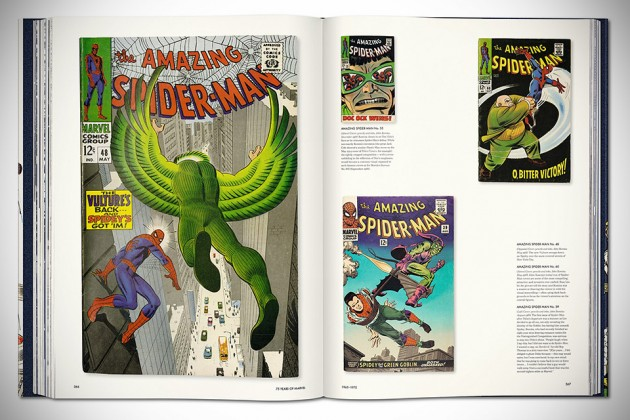 75 Years of Marvel Comics: From the Golden Age to the Silver Screen - Sample page