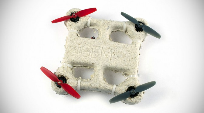 Ames' Biodegradable Drone