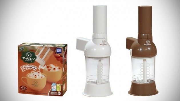 Awata Ticino 3D Latte Foam Art Maker